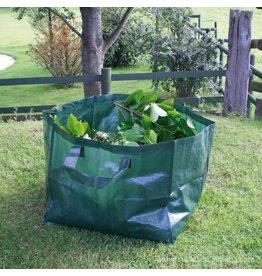 Westerholt Gartenabfalltasche Laubtasche Gartentasche grün 120 Liter aus PE-Gewebe 2387