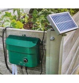 ewega Esotec 101100 Solar Bewässerungssystem WATER DROPS ideal für Hochbeete
