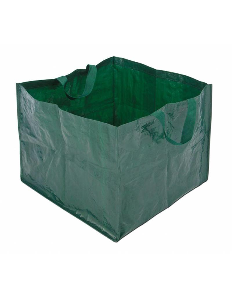 Garten Abfallsack Laubsack Gartentasche eckig 150 Liter 58x58x46cm grün 60123