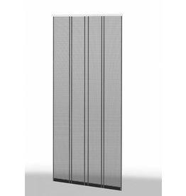 CULEX Klemm Lamellenvorhang 100x220cm Profil weiss Lamelle anthrazit 101430101-VH
