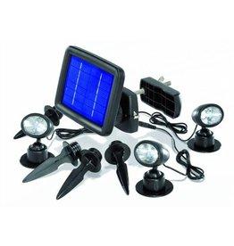 Esotec 102140 Solarspot Trio mit 3 LED Spots 6000 K