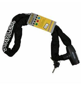 Stahlex 008405 Kettenschloss 8x1200mm mit schwarzer Nylonummantelung