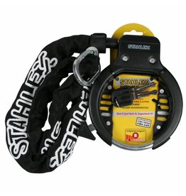 Stahlex Stahlex 008624 Fahrad Rahmenschloss Fahrradschloss mit Einsteckkette 900mm