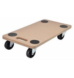 ewega Transportbrett Transport Rollbrett Möbelroller mit 4 Lenkrollen bis 200kg 95018