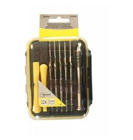 BENSON TOOLS Benson Tools 010234 Smartphone Tablet-PC Reparatur Werkzeug Set 22tlg