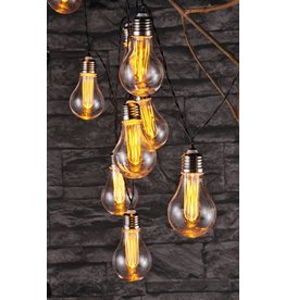 Lichterkette in Glühbirnen-Form 10 LEDs warmweiss 75054