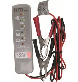 BGS technic BGS technic 2189 Lichtmaschinen Spannungsprüfer 12 Volt LED