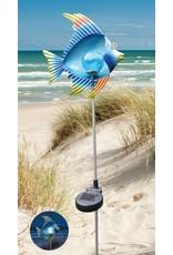 Westerholt Solar LED Gartenstecker Fisch mit Erdspiess 2483
