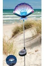 Westerholt Solar LED Gartenstecker Muschel mit Erdspiess 2485