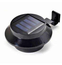Westerholt LED Solarleuchten Solarstrahler Solarlampen für Dachrinnen 2er schwarz 2488