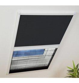 CULEX Kombi Dachfenster Plissee mit Sonnenschutz 110x160cm weiss 101170101-VH