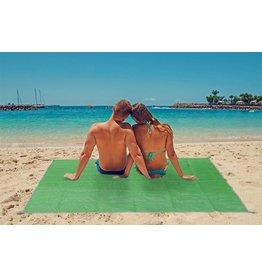 Strandmatte Matte Strand sandfrei 200x150cm grün 62331