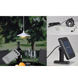 Solarlampe Solar Hängelampe mit Fernbedienung 70310