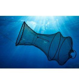 Fischreuse Setzkescher 70cm zusammenfaltbar mit Kordel 66267