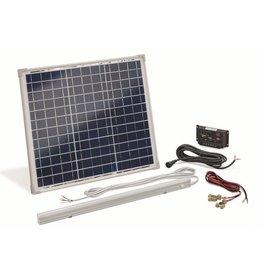 Esotec 120006 Solar Inselanlage 30WP mit Laderegler und LED Leuchte
