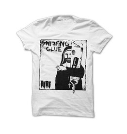Sniffing Glue, Nun - T-Shirt