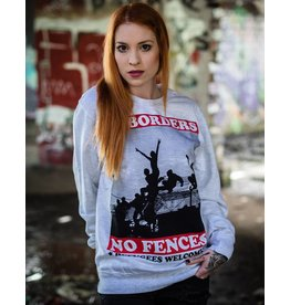 Useless No Borders, No Fences - Unisex Sweatshirt