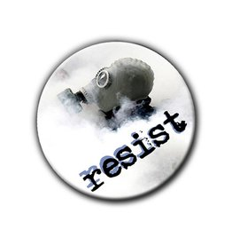 Resist - Gasmask - Button