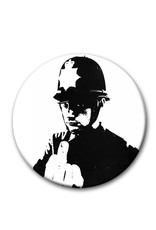 Banksy, Police - Button