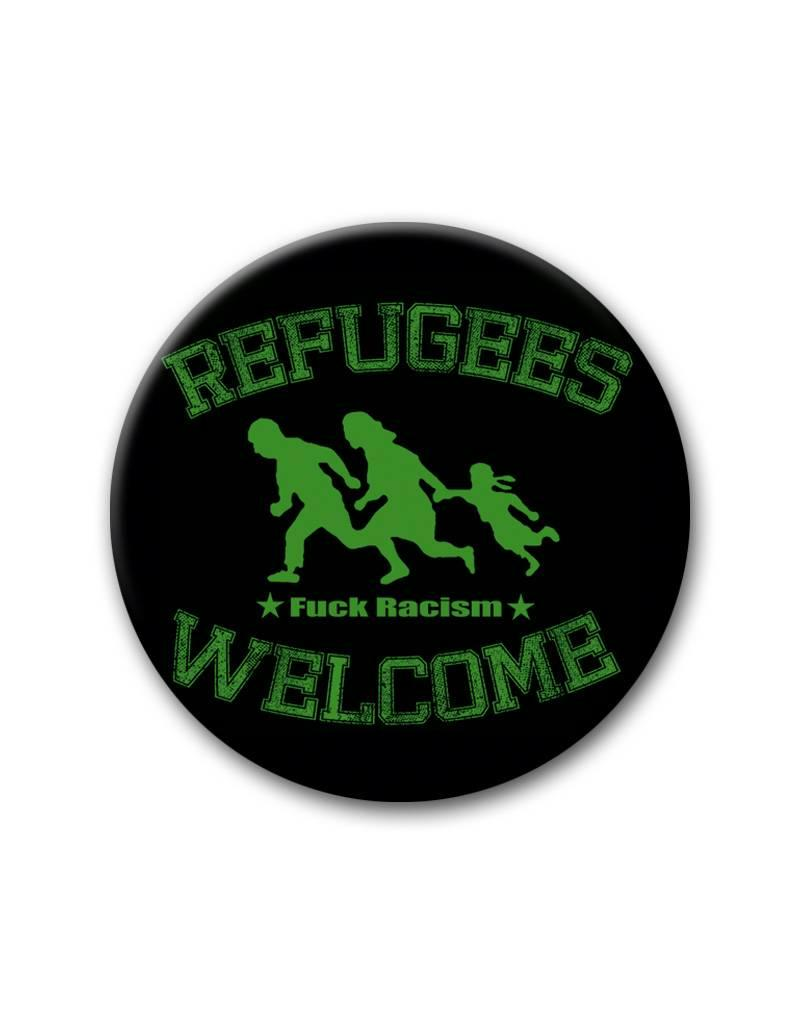 Refugees Welcome - Button