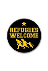 Refugees Welcome, Star - Button