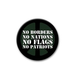 No Borders, No Nations - Button