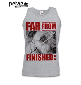 Far from finished, Peta2 Benefit - Tanktop