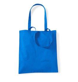 Basics Baumwolltasche unbedruckt blau