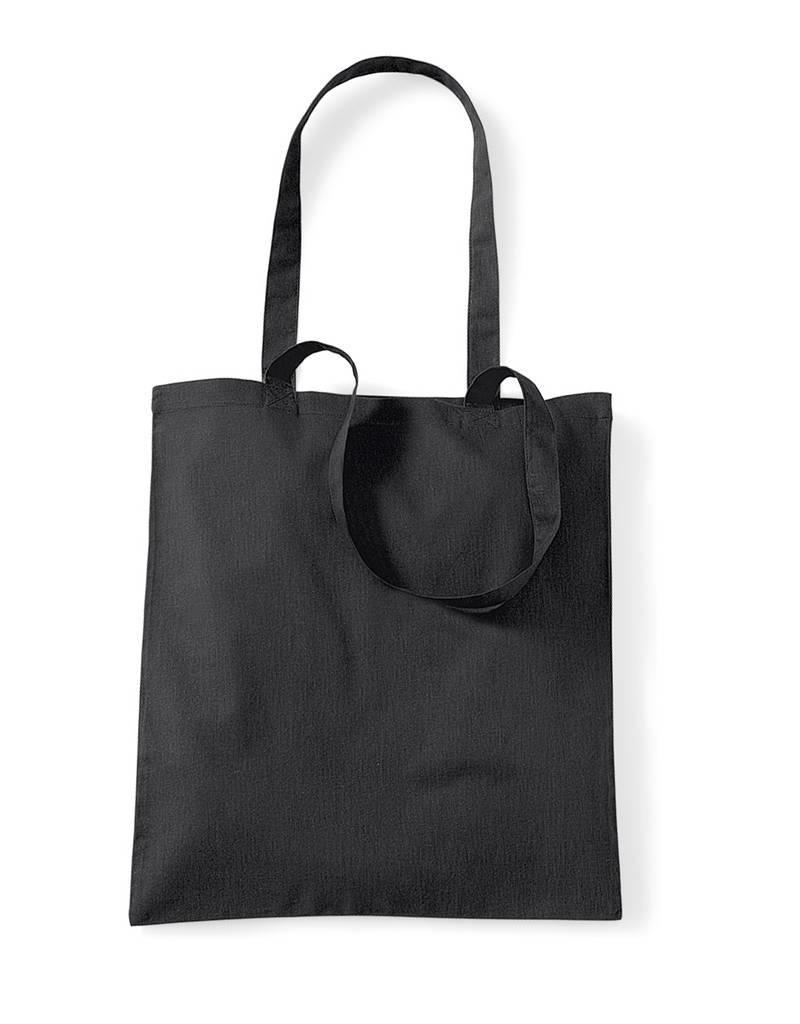 Basics Baumwolltasche unbedruckt schwarz