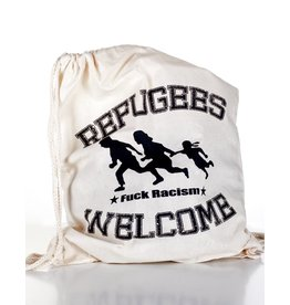 Useless Refugees Welcome - Gymbag natural