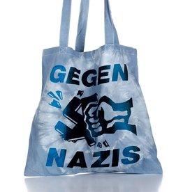 Useless Gegen Nazis - 2-farb - Batik Tasche