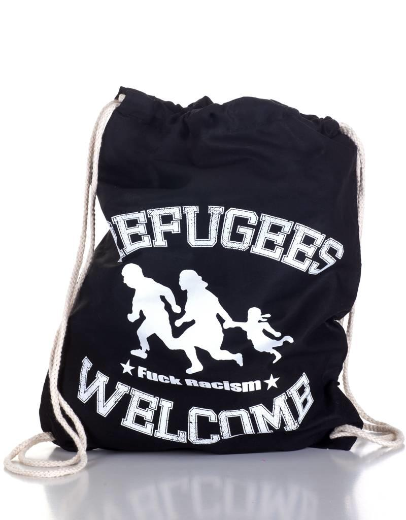 Useless Refugees Welcome - Gymbag schwarz
