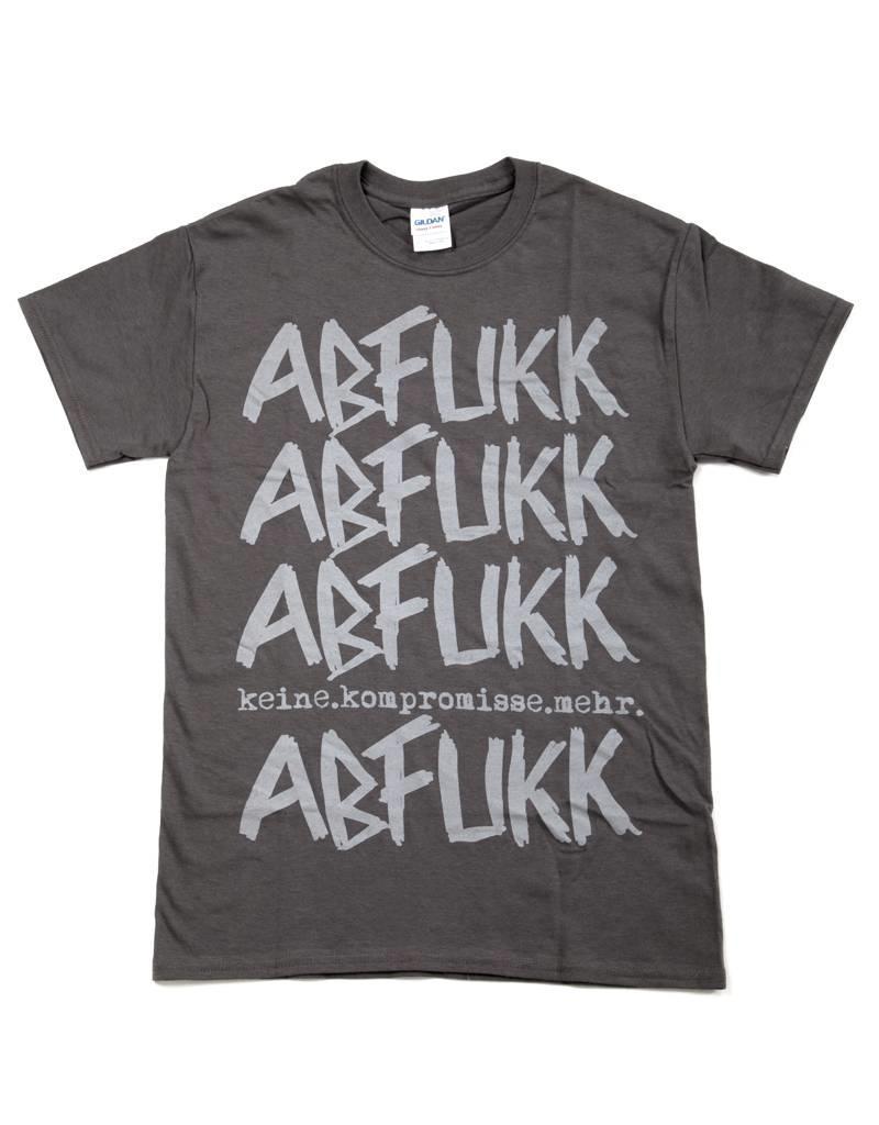 Abfukk Abfukk, Keine Kompromisse, grau - T-Shirt