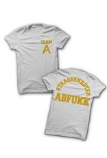 Abfukk Abfukk, Straßenköter gelb - T-Shirt