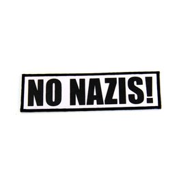 No Nazis - Patch
