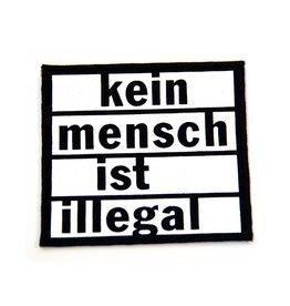 Kein Mensch ist illegal - Patch