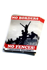 No Borders, No Fences - Sticker