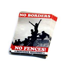 No Borders, No Fences - Stickerpaket