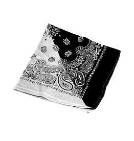 Bandana - schwarz weiß