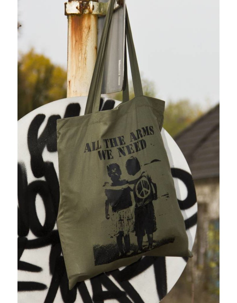 Useless All the arms we need - Tasche military green