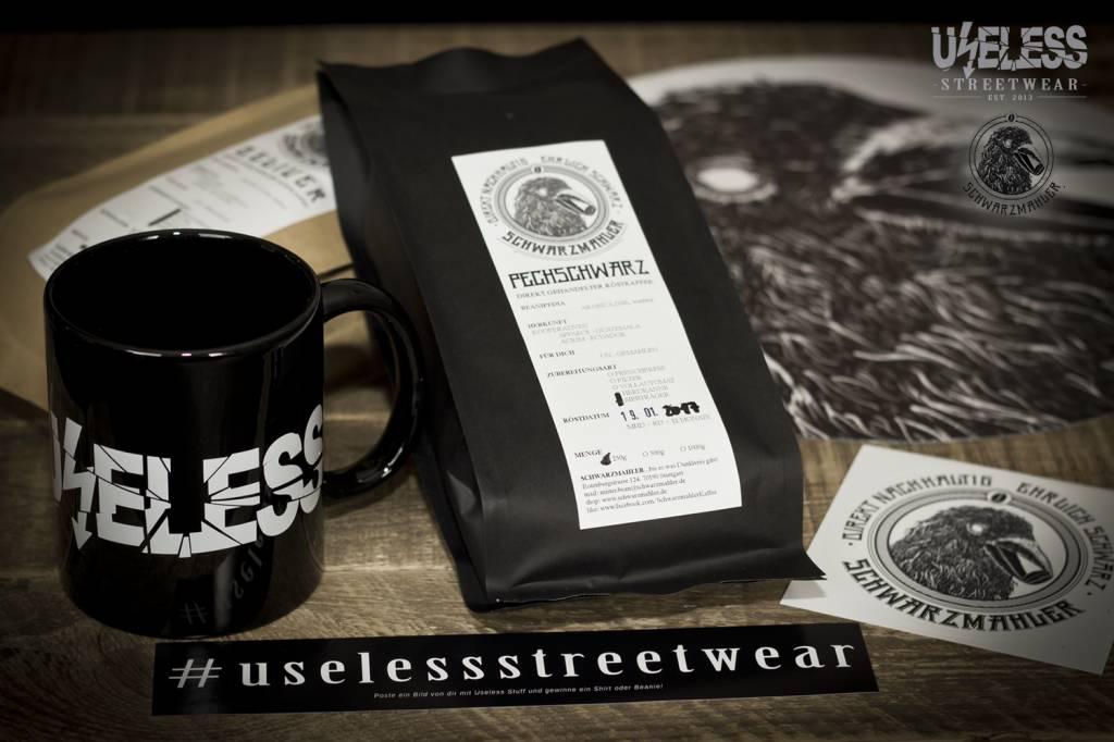 Verlosung: Tasse, Kaffee und Slipmat