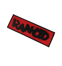 Rancid - red - Patch