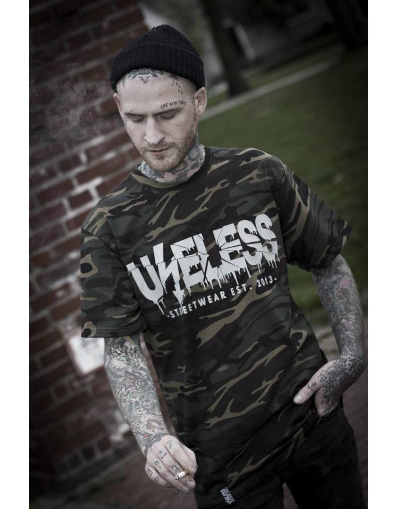 Useless Crisis Camo - Unisex T-Shirt