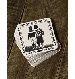 Useless All the arms we need - 4x Bierdeckel