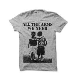 Useless All the arms we need - T-Shirt, grau
