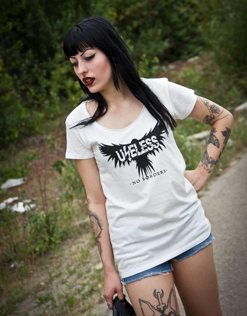 Useless No Borders - Girlie Shirt  - natural