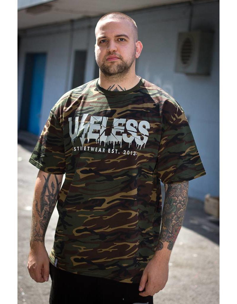 Useless Crisis Camo - T-Shirt