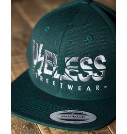 Useless Useless Snapback Cap, grün