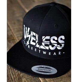 Useless Useless Snapback Cap, schwarz