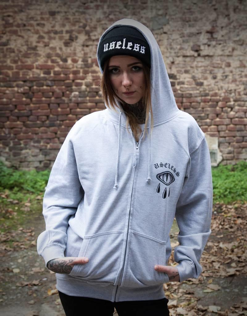 Useless Trust No One - Unisex Kapuzenzipper